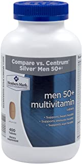 Member's Mark - Men 50+ Multivitamin, 400 Tablets (Compare to Centrum)