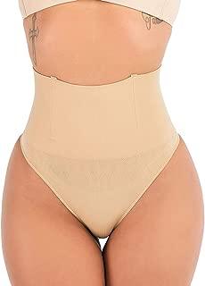 FIRSTLIKE Women Waist Cincher Girdle Tummy Slimmer Sexy Thong Panty Shapewear
