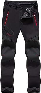 LHHMZ Pantalones de Senderismo Hombre Pantalones para