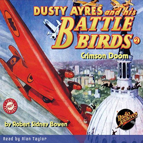 Dusty Ayres and His Battle Birds #2 cover art