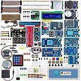 Adeept Ultimate Starter Kit para Raspberry Pi, Raspberry Pi Kit, Python C Code, 40 proyectos, Kit de componentes electrónicos DIY con 480 páginas PDF Manual