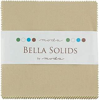 Bella Solids Tan Charm Pack 42 Squares 5