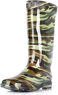 Rubber Boots For Men-Rubber Boots Rain Boots High Tube Black Men's Fishing Shoes Waterproof Shoes Non-slip Shoes Summer Beef Tendon Bottom Boots |Rain boots (Color : Multi-colored, Size : 42 yards)