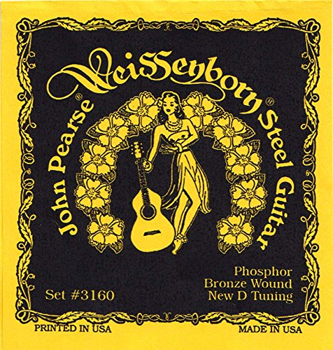 John Pearse 3160 Weissenborn D-Tune
