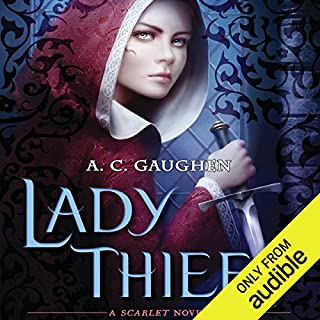 Lady Thief audiobook cover art