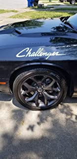 Challenger Decal Dodge Mopar Side Stickers Racing Stripes Set of 2 Car Graphycs (Red)