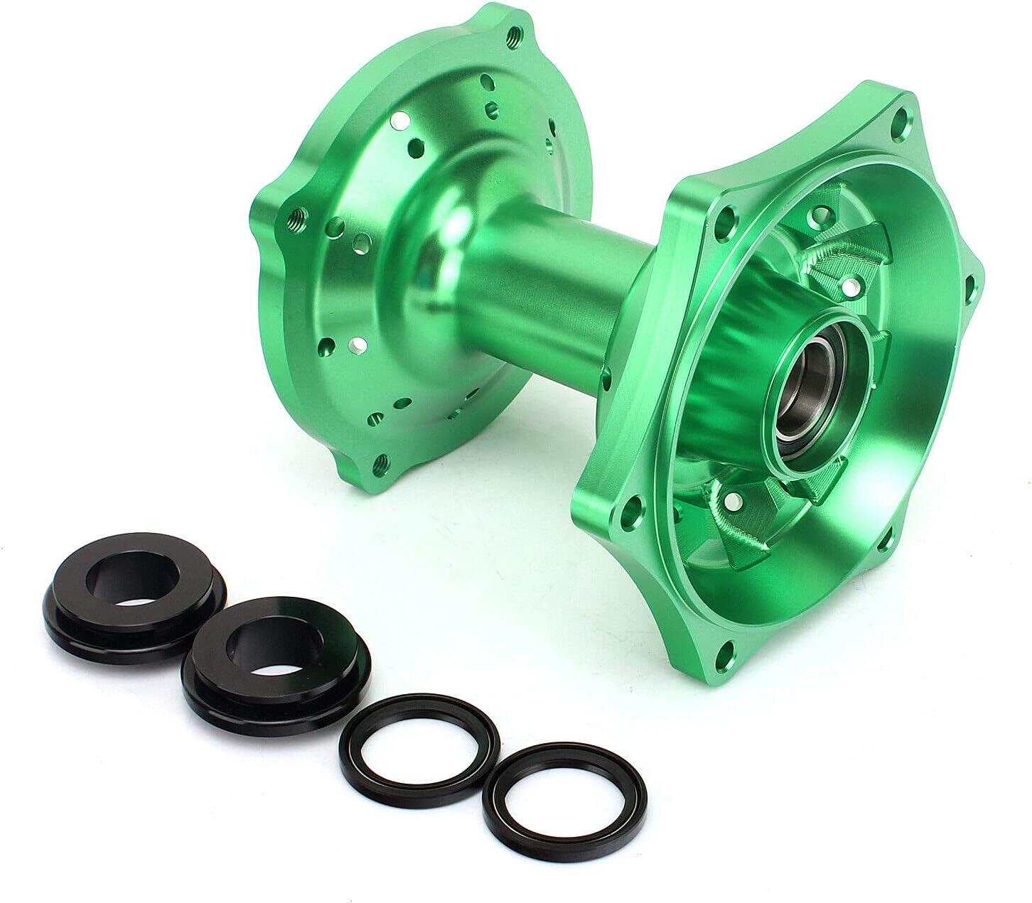 Sale SALE% OFF Smadmoto CNC Billet Rear Wheel Hub KXF KX 125 Green for Opening large release sale KAWASAKI