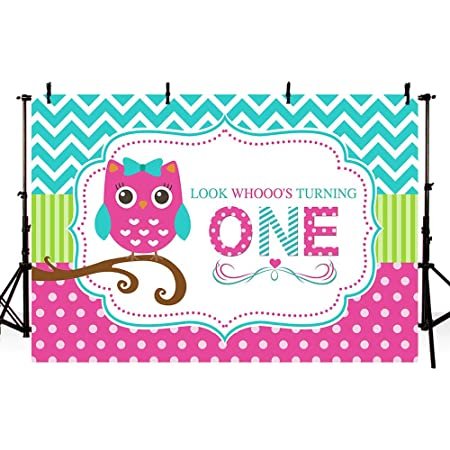 6x6FT Vinyl Backdrop Photographer,Retro,Doodle Style Owls Glasses Background for Baby Shower Bridal Wedding Studio Photography Pictures