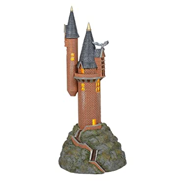 Department 56 Harry Potter Village the Owlery Lit Building, 10.63 Inch, Multicolor
