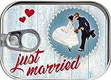 Dosenpost Hochzeit Glückwunschkarte Geldgeschenk Karte Geschenk Dose
