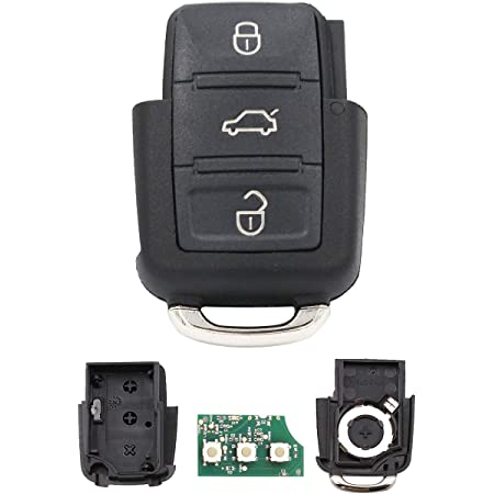 Ersatz Klappschlüssel Schlüsselgehäuse 3 Taste Rohling Elektronik