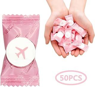 VanFn Disposable Towel, Compressed Towel, Mini Disposable Compressed Washcloth, Cotton Portable Disposable Compressed Towe...