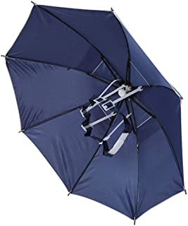 KEENSO 2PCS Folding Umbrella Hats,Ventilation,Anti-UV,Windproof,Rainproof,Ultraviolet Protection,Raining Tackle For Campin...