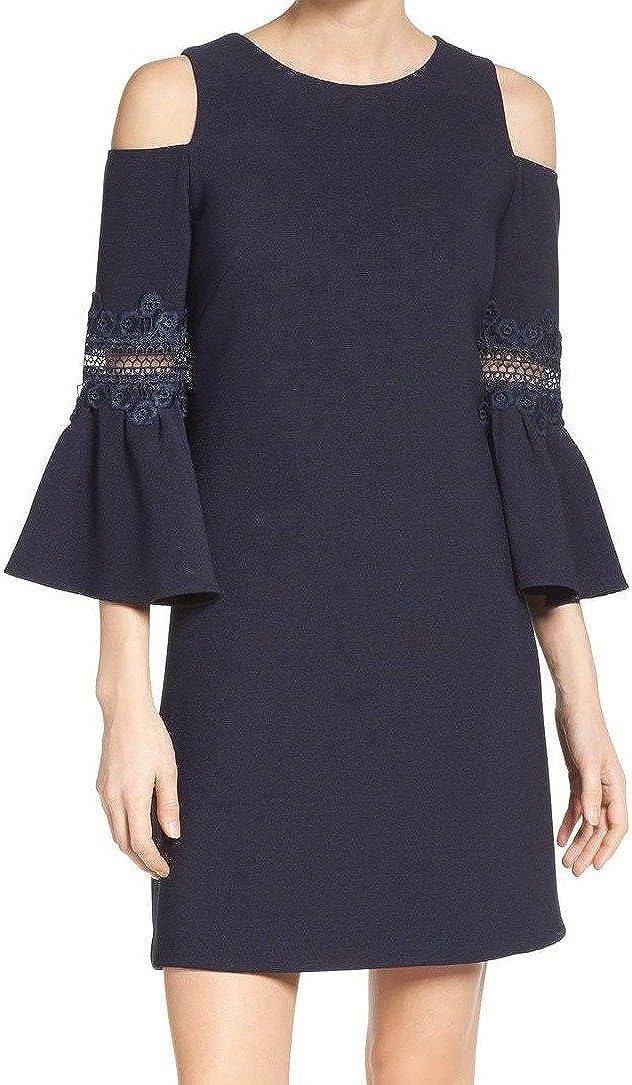 Eliza J Women's Cold A-line Large-scale sale Shoulder Max 75% OFF Dress