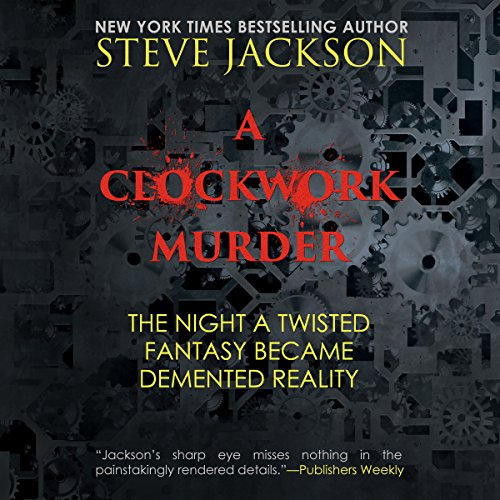 A Clockwork Murder audiobook cover art