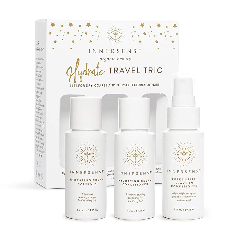 Innersense - Organic Hydrating Travel Trio