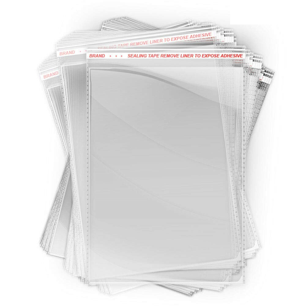 Lunox 200 PCS overseas Crystal Clear Polypropylene shop Poly Resealable Plasti