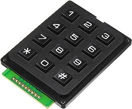 ILS - 5 Pieces 12 Key MCU Membrane Switch Keypad 4 x 3 Matrix Array Matrix Keyboard Module for Arduino