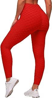 Sexy Butt Lift High Waist Slimming Leggings Textured Activewear Yoga Pants Skinny Tights