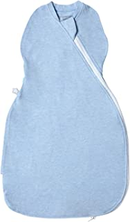 Tommee Tippee The Original Grobag, Newborn Easy Swaddle, 0-3 m, Blue Marl