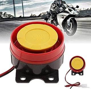 Air Siren Universal DC 12V Motorcycle ATV Raid Small Electric Horn Alarm Red 1pc