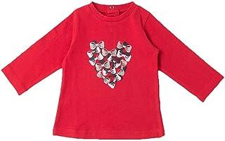 BABY-BOL - Camiseta Niña Corazón bebé-niños