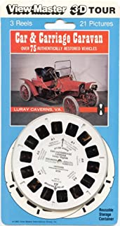 ViewMaster - Car & Carriage Caravan - ViewMaster Reels 3D - NEW