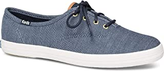 Keds Women's Champion Ticking Canvas Sneaker