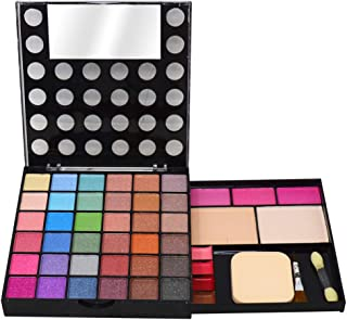 T.Y.A GOOD CHOICE INDIA Makeup Kit, 36 Eyeshadow, 3 Blusher, 2 Compact, 4 Lip Color, (5036), 40g With Hand Cleanser Sanatizer