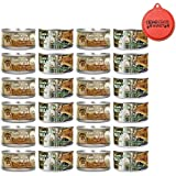 Taste of the Wild Cat Food Variety Pack with Can Topper - 3 Ounces - 2 Flavors - Rocky Mountain Feline with Salmon & Roasted Venison Formula and Canyon River Feline Trout & Salmon Formula (24 Pack)