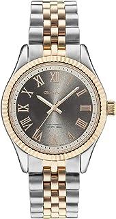 Gant Bellport Men's Grey Dial Stainless Steel Band Watch - G Gww70705, Analog Display, Miyota 2035 Movement