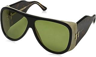 cf4b858cb4 Gucci GG0149S 001 Gafas de sol, Negro (Black/Green), 63 para