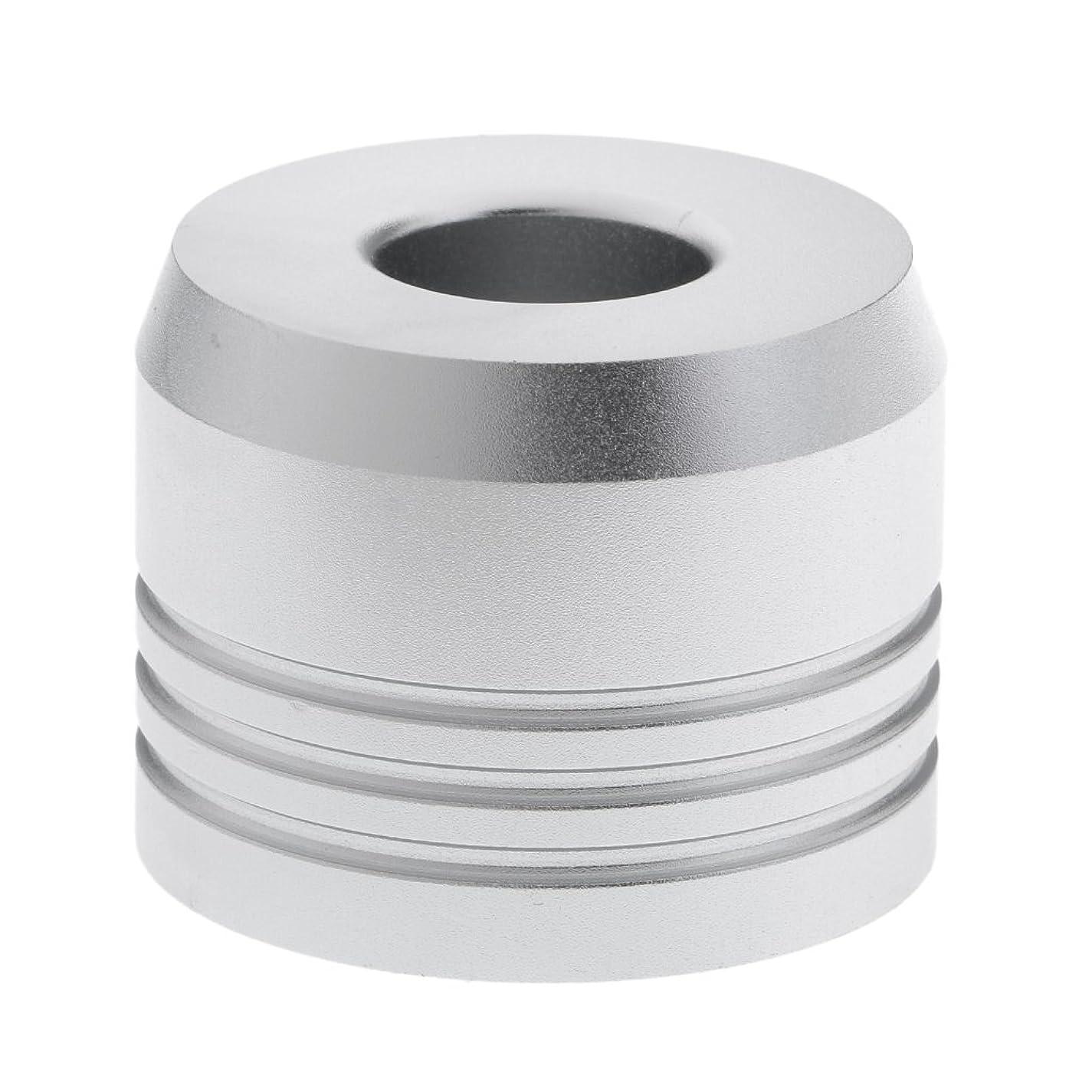 賢明な承認する積極的にBaosity カミソリスタンド スタンド シェービング カミソリホルダー ベース サポート 調節可 乾燥 高品質 2色選べ   - 銀