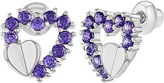 Best screw back heart earrings Reviews