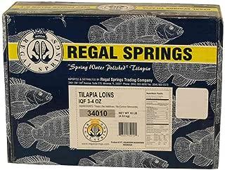 Regal Springs Tilapia Loin, 3 to 4 Ounce -- 1 each.