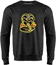 Cobra Kai Costume The Karate Kid Retro Martial Art Crewneck Sweatshirt for Men