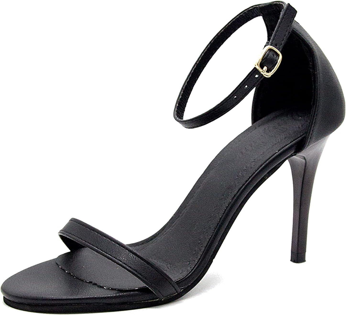 DGJL 9cm Heels Sandals Women's Stiletto Open Max 76% OFF Max 74% OFF Shoes Lad Toe Heel