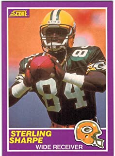 1989 Score with Supplemental Green Bay Packers Team Set with Sterling Sharpe RC & Don Majkowski RC - 14 NFL Cards