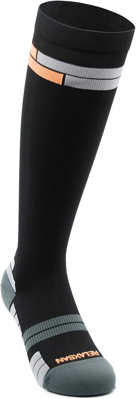 Relaxsan 800 Sport Socks Black Orange Long-awaited – 1S Sports compression 2021new shipping free