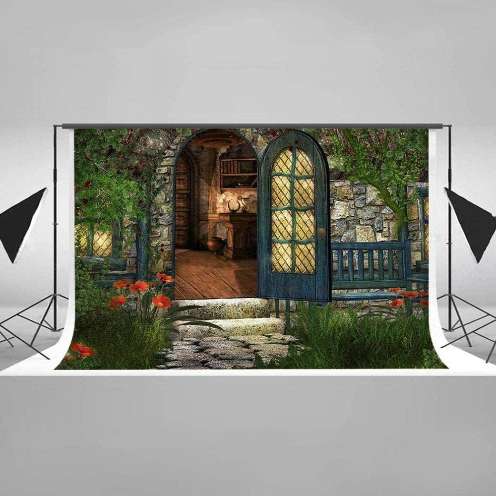 HD 7x5ft European Style Architecture Backdrop Blue Sky River Photography Background Italy Travel Cotton Backdrop Photo Booth Props EAYF048 Wrinkle Resistance