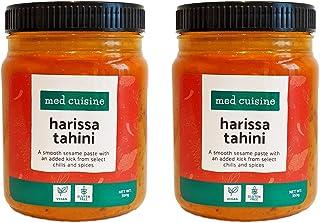 comprar comparacion Med Cuisine Harissa Tahini - Pasta De Sésamo Suave Con Un Toque Extra De Chiles Y Especias Seleccionados - Salsa Picante D...