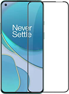 Nillkin Glass Screen Protector CP+ Pro For Oneplus 8T / Oneplus 9R ShockProof Clear Frame Black (Black)