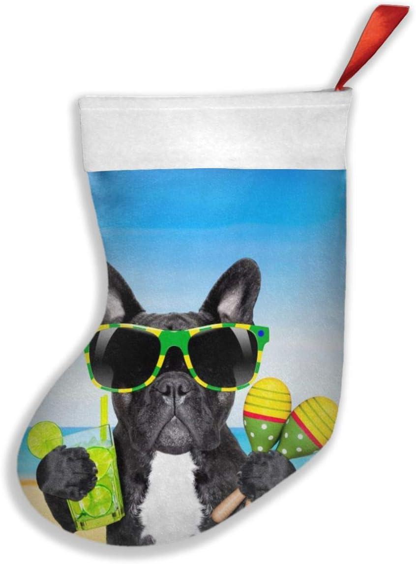 YISHOW Brazil French Bulldog Christmas Stocking supreme Gift H Socks Bag Max 77% OFF