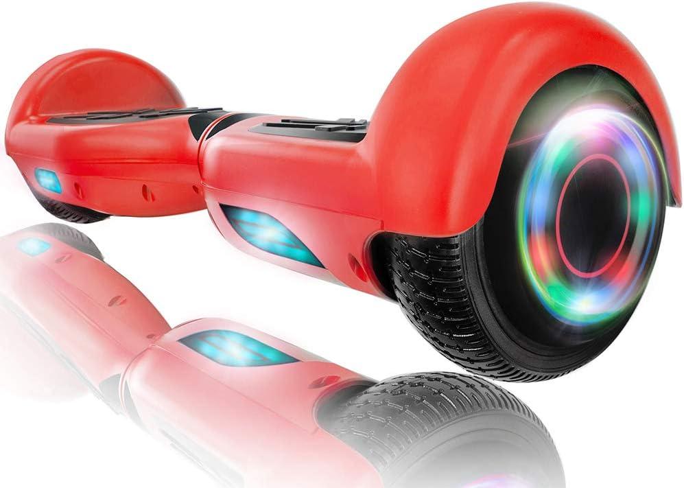 Cheap mail order shopping XPRIT 6.5'' Self Balancing Hoverboard LED Speaker L w [Alternative dealer] Bluetooth