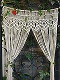 RISEON Macrame Wall Hanging Tapestry-...