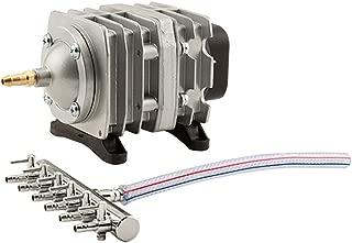 EcoPlus 793 GPH 728450(3000 LPH, 18W) Commercial Air Pump w/ 6 Valves | Aquarium, Fish Tank, Fountain, Pond, Hydroponics