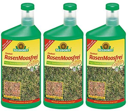 3 x 1 Liter Neudorff Finalsan RasenMoosfrei