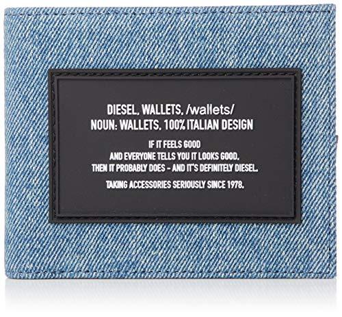 Diesel Portafoglio uomo piccolo Hiresh S X06776 Jeans