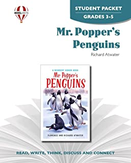 Mr. Popper's Penguins - Student Packet by Novel Units