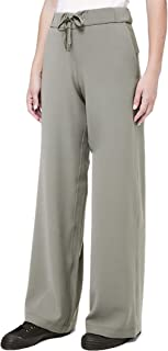 ON The Fly Wide Leg Pant Woven - GRSG (Grey Sage) (4)